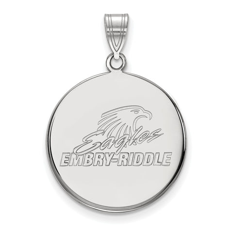 14kw LogoArt Embry-Riddle Large Disc Pendant