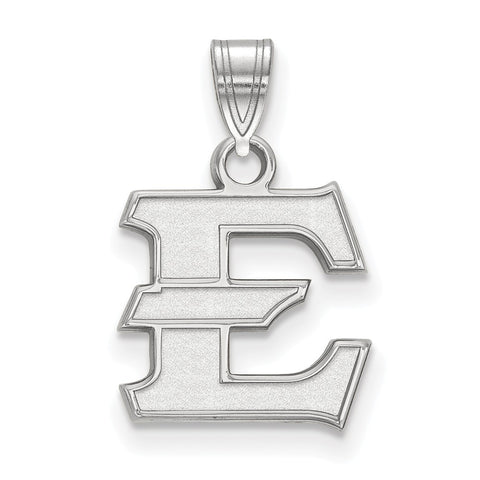 Sterling Silver LogoArt East Tennessee State Small Pendant