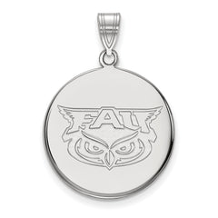 14kw LogoArt Florida Atlantic Large Disc Pendant