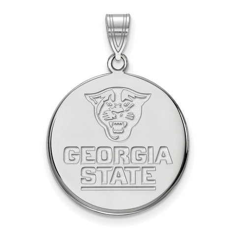 10kw LogoArt Georgia State University Large Disc Pendant