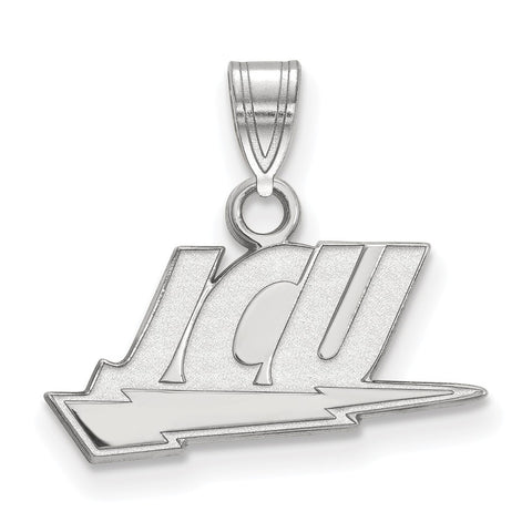 Sterling Silver LogoArt John Carroll University Small Pendant