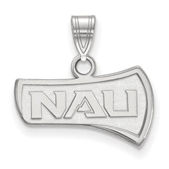 Sterling Silver LogoArt Northern Arizona University Small Pendant