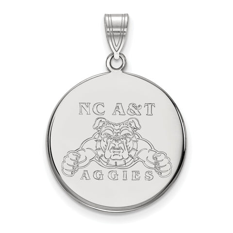 10kw LogoArt North Carolina A&T Large Disc Pendant