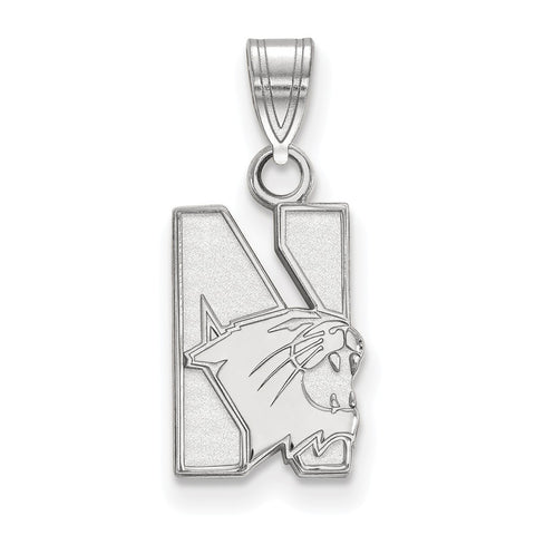 14kw LogoArt Northwestern University Small Pendant