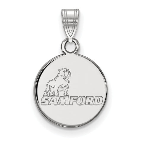 Sterling Silver LogoArt Samford University Small Pendant