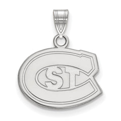 Sterling Silver LogoArt St. Cloud State Small Pendant