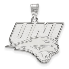 Sterling Silver LogoArt University of Northern Iowa Large Pendant