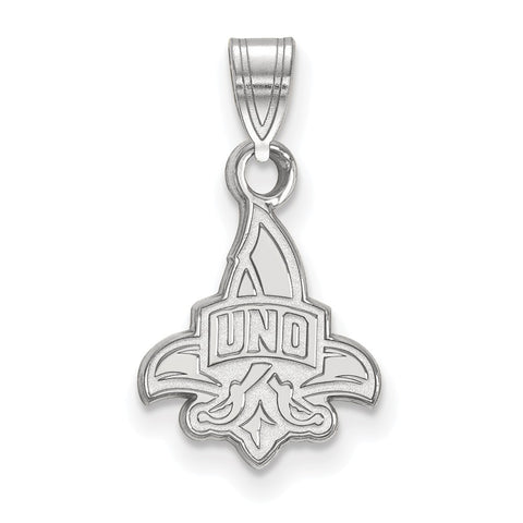 14kw LogoArt University of New Orleans Small Pendant