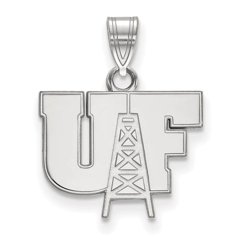 Sterling Silver LogoArt University of Findlay Small Pendant