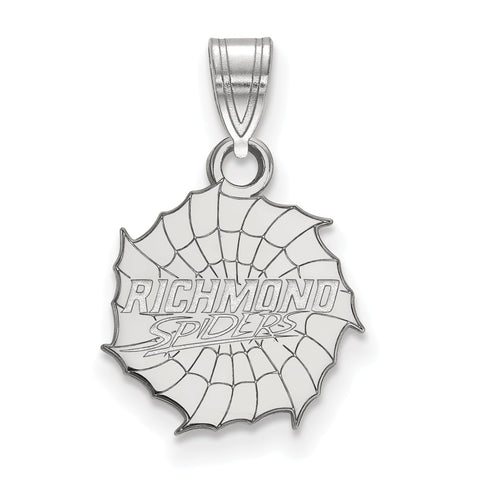 Sterling Silver LogoArt University of Richmond Small Pendant