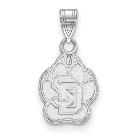 10kw LogoArt University of South Dakota Small Pendant