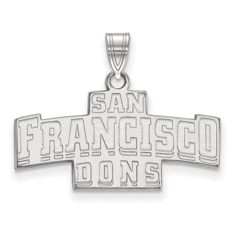 14kw LogoArt University of San Francisco Small Pendant