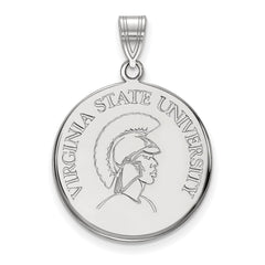 10kw LogoArt Virginia State University Large Disc Pendant