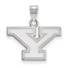 Sterling Silver LogoArt Youngstown State University Small Pendant