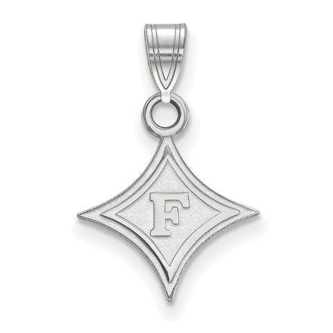 14kw LogoArt Furman University Small Pendant