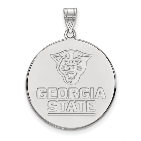 14kw LogoArt Georgia State University XL Disc Pendant