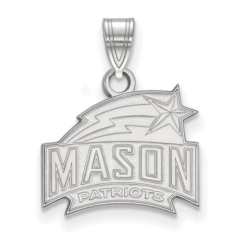 14kw LogoArt George Mason University Small Pendant