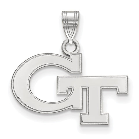 14kw LogoArt Georgia Institute of Technology Small Pendant