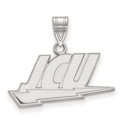 Sterling Silver LogoArt John Carroll University Medium Pendant