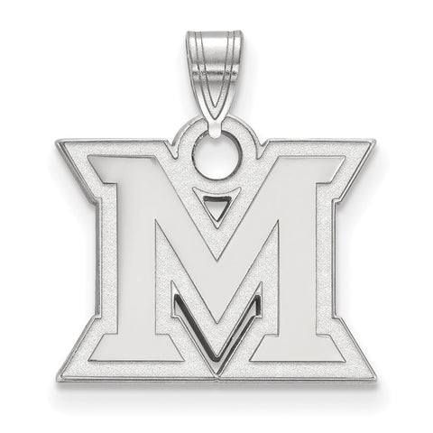 14kw LogoArt Miami University Small Pendant