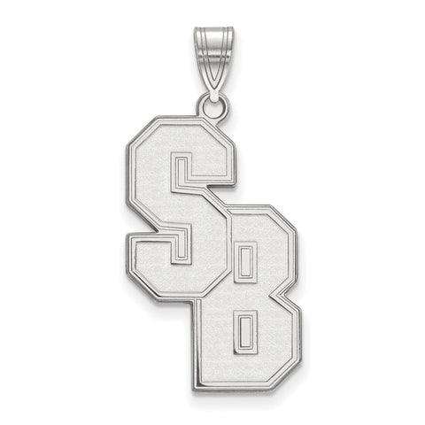 Sterling Silver LogoArt Stony Brook University XL Pendant