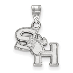 Sterling Silver LogoArt Sam Houston State University Small Pendant