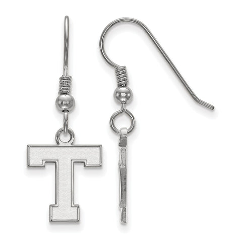 Sterling Silver LogoArt Tarleton State University Small Dangle Earrings