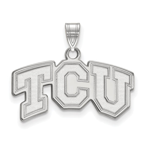 14kw LogoArt Texas Christian University Small Pendant