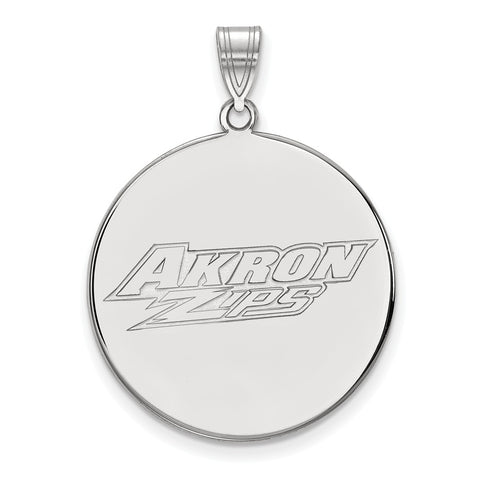 10kw LogoArt Univeristy of Akron XL Disc Pendant
