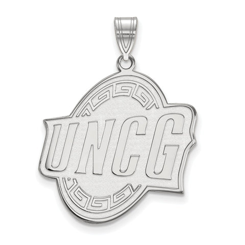 10kw LogoArt U of North Carolina at Greensboro XL Pendant