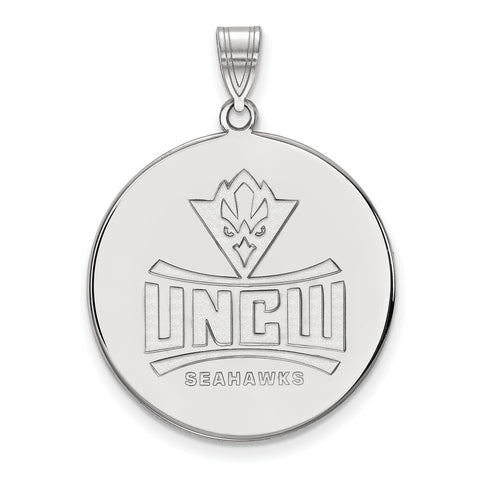 14kw LogoArt North Carolina Wilmington University of XL Disc Pendant