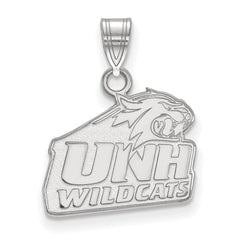 Sterling Silver LogoArt University of New Hampshire Small Pendant