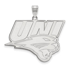 Sterling Silver LogoArt University of Northern Iowa XL Pendant