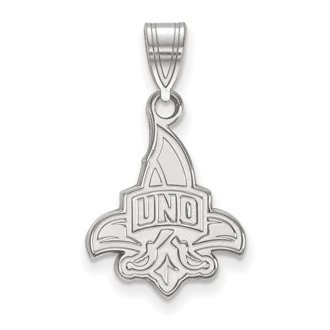 14kw LogoArt University of New Orleans Medium Pendant