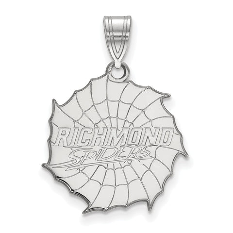 Sterling Silver LogoArt University of Richmond Large Pendant