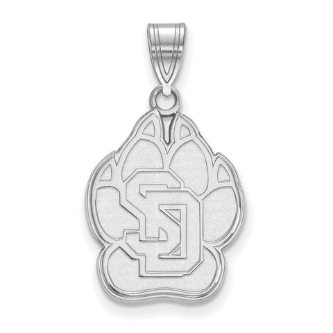 14kw LogoArt University of South Dakota Large Pendant