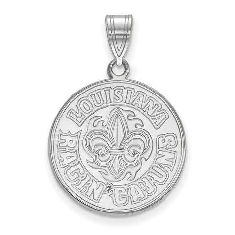 14kw LogoArt University of Louisiana at Lafayette Large Pendant