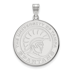 Sterling Silver LogoArt University of Tampa XL Pendant