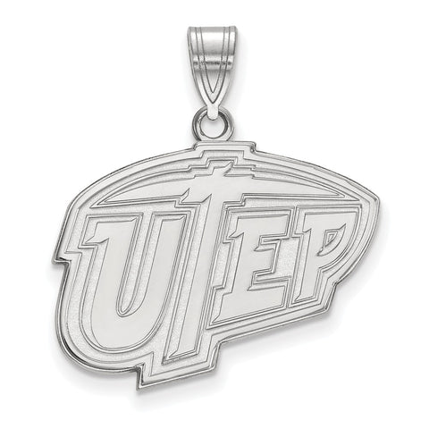 10kw LogoArt The University of Texas at El Paso Large Pendant