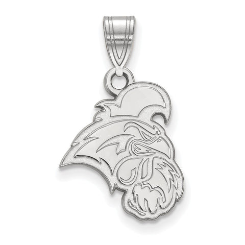 10k White Gold Logoart Coastal Carolina University Chanticleers Medium Pendant