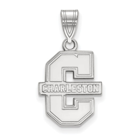 14kw LogoArt College of Charleston Medium Pendant