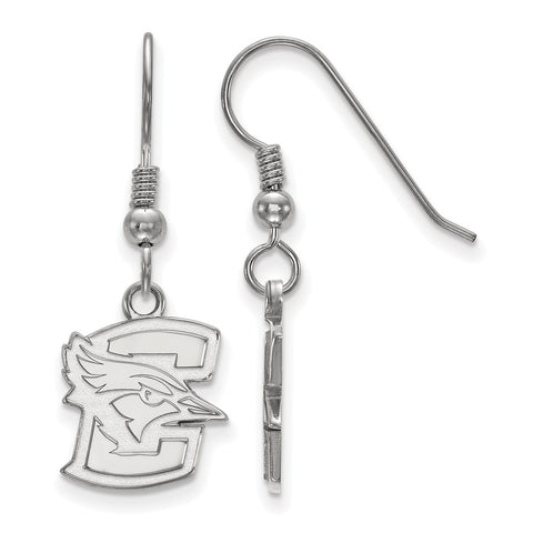 Sterling Silver LogoArt Creighton University Small Dangle Earrings