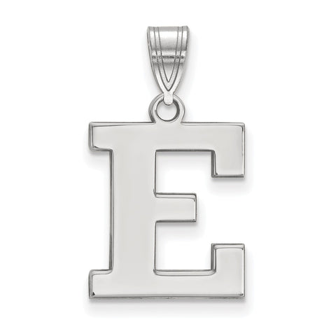 Sterling Silver LogoArt Eastern Michigan University Medium Pendant