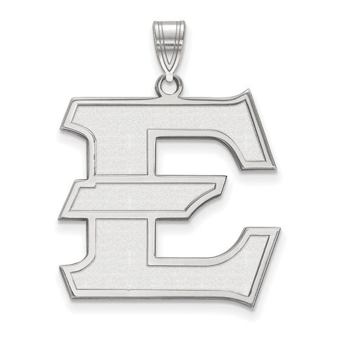 Sterling Silver LogoArt East Tennessee State XL Pendant