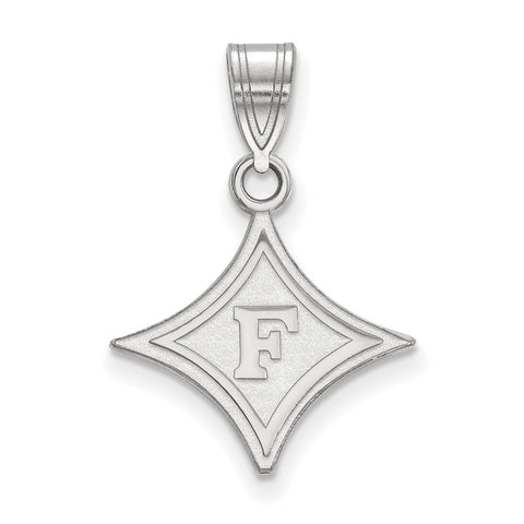 14kw LogoArt Furman University Medium Pendant