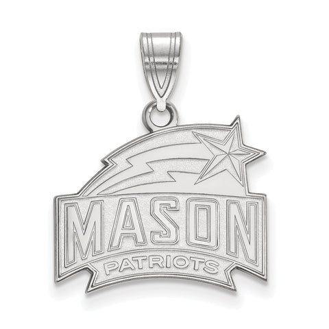 14kw LogoArt George Mason University Medium Pendant