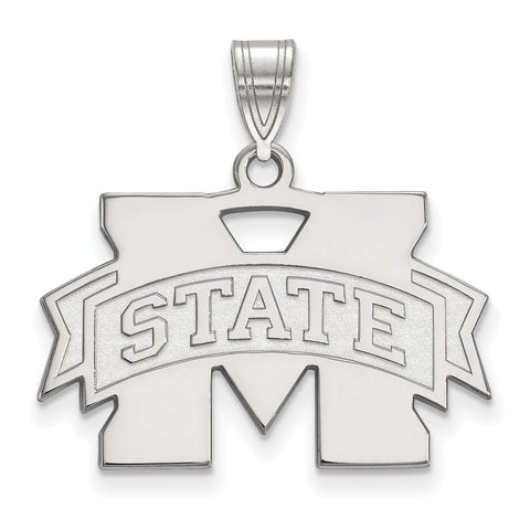 14kw LogoArt Mississippi State University Medium Pendant