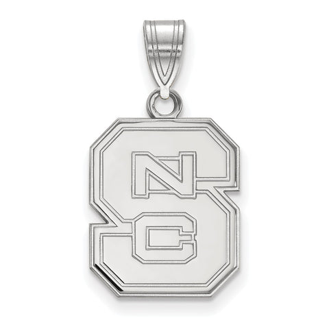 14kw LogoArt North Carolina State University Medium Pendant