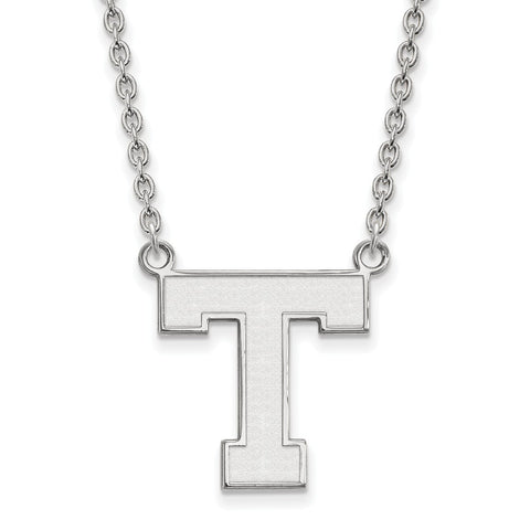 Sterling Silver LogoArt Tarleton State University Large Pendant w/Necklace