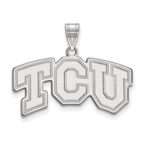14kw LogoArt Texas Christian University Medium Pendant